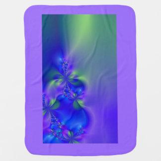 Manta psicodélica del bebé del ~ del fractal 44 mantas de bebé