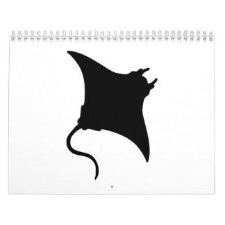 Manta Ray Calendar