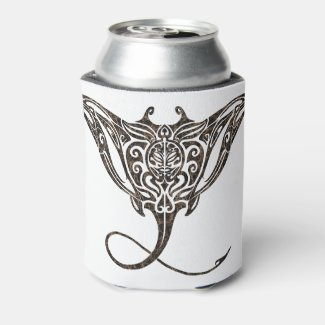 Manta Ray Can Cooler
