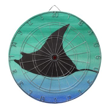 Beach Themed Manta Ray Dartboards