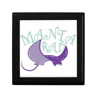Manta Ray Jewelry Box