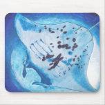 Manta Ray Mouse Pad