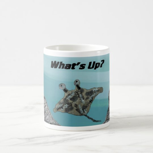 Manta Ray Ocean Coffee Mug