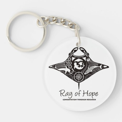 Manta Ray of Hope MMF Acrylic Keychain