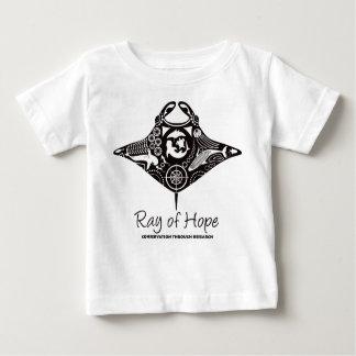 Manta Ray of Hope MMF Baby T-Shirt Black Print