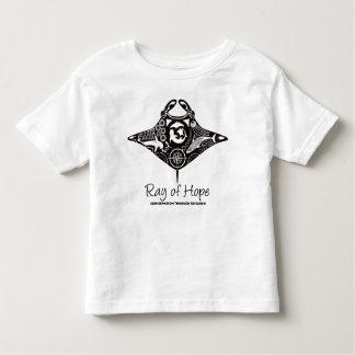 Manta Ray of Hope MMF Toddler T-shirt Black Print
