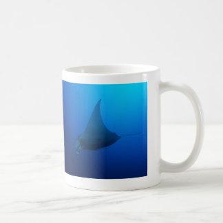 Manta Ray on the Great Barrier Reef Coffee Mug