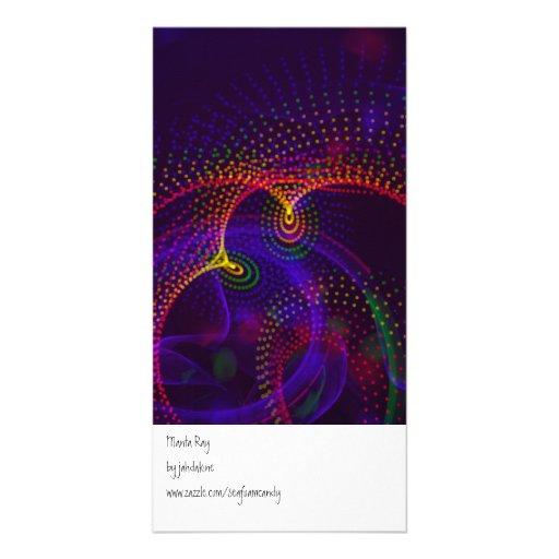 Manta Ray Photo Card Template