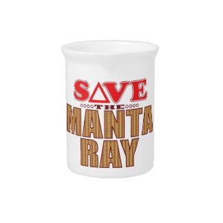 Manta Ray Save Beverage Pitchers