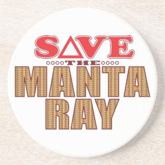 Manta Ray Save Coaster