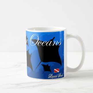 Manta Ray - Save Our Oceans Coffee Mugs