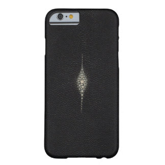 MANTA RAY STING RAY TEXTURED BLACK iPhone 6 case