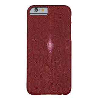 MANTA RAY TEXTURED RUBY RED iPhone 6 case