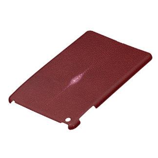 MANTA RAY TEXTURED RUBY RED MINI iPAD CASE iPad Mini Cover