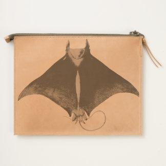 manta ray travel pouch