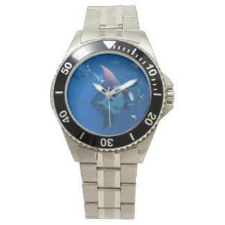 Manta Ray Wrist Watches