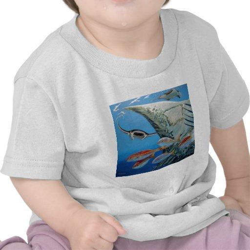 manta rays tee shirt