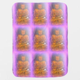manta rosada del bebé de Buda Mantitas Para Bebé