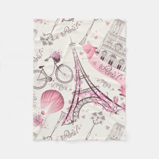 Manta rosada moderna del paño grueso y suave de la
