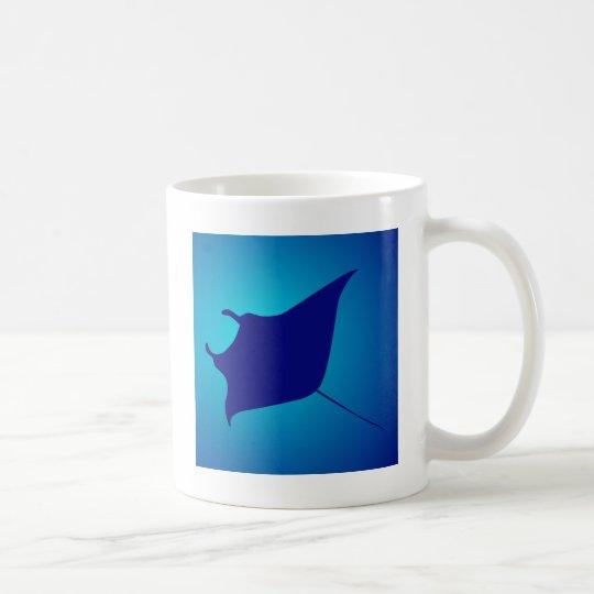 Manta skate ray coffee mug