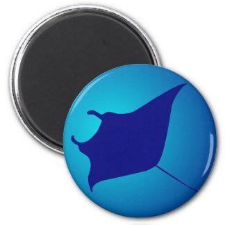 Manta skate ray magnet