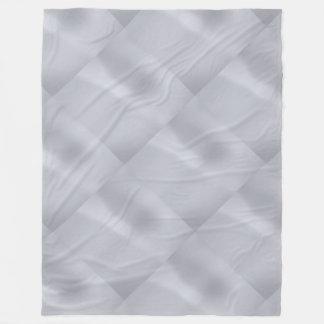 Manta sutil de plata del paño grueso y suave del manta de forro polar