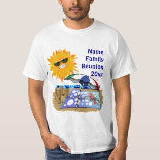 Manta y Sun de la playa Camisas