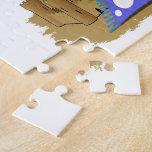 Manta y Sun de la playa Puzzle