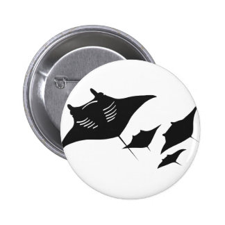 mantarochen manta ray scuba diving dip divers 2 inch round button