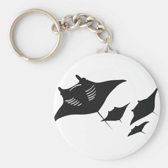 mantarochen manta ray scuba diving dip divers keychain