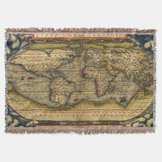 Mantas del mapa de Viejo Mundo Manta