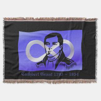 Mantas del tiro de Cuthbert Grant de la manta del