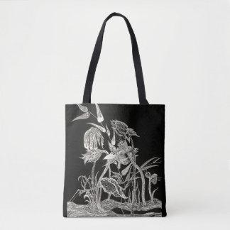 Mantas Garden black tote bag