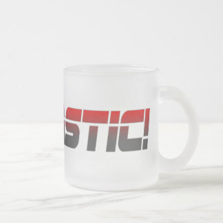 Mantastic1 Frosted Glass Coffee Mug