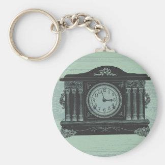 mantel clock key chain