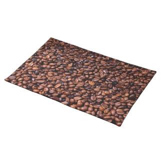 Mantel con granos de cafe