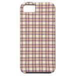 mantel de la comida campestre del modelo del caso iPhone 5 carcasas