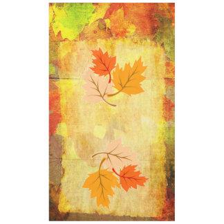 Mantel de la estación del otoño