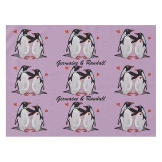 Mantel del amor del pingüino