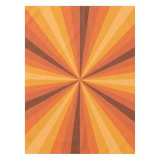 Mantel del naranja de la ilusión óptica