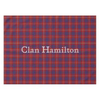 Mantel del tartán de Hamilton del clan