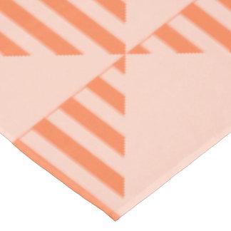 Mantel, diseño coloreado coral del triángulo mantel de tela
