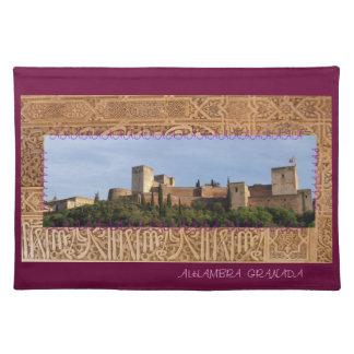 Mantel individual Alhambra Granada