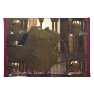 Mantel individual Patio de los Leones Alhambra