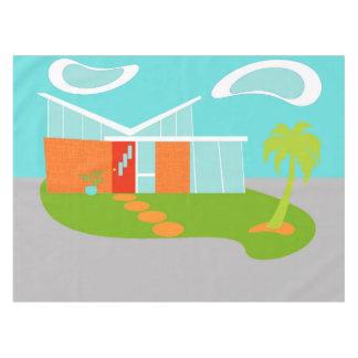 Mantel moderno de la casa del dibujo animado de