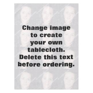 Mantel personalizado de la foto. Haga sus los