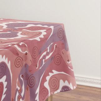 Mantel rojo suave 8 de Tesselation de las liebres