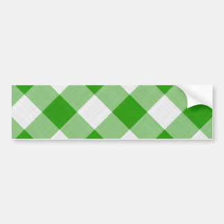 mantel verde pegatina de parachoque