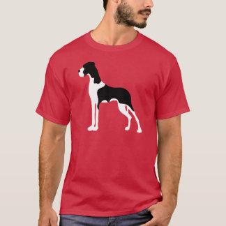 Manteldogge Boston Great Dane Playera