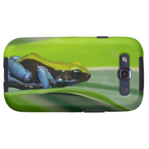 mantella Verde-apoyado Galaxy S3 Fundas